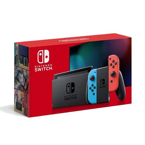 Nintendo 任天堂 Switch 游戏机 红蓝手柄 续航加强版