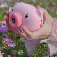 电动音乐 小猪泡泡相机(泡泡水*3+电池*3+背带*1)