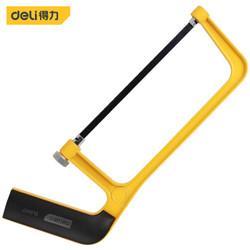 得力(deli) 便携迷你锯架手工锯子木工弓锯带锯条6英寸 DL6007