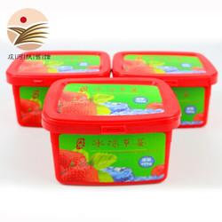丹东冰冻草莓冰点草莓冷冻草莓新鲜水果罐头 425g*3盒