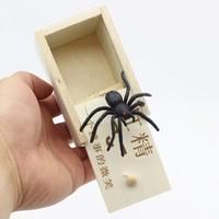 凡小熊 创意整蛊玩具 蜘蛛木盒