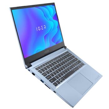 ThundeRobot 雷神 IGER系列 IGER S1 14英寸 笔记本电脑 酷睿i7-1165G7 16GB 512GB SSD GTX1650 4G 蓝色