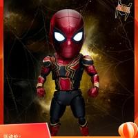 野兽王国漫威蜘蛛侠手办复联3限量款q版可动人偶玩具模型EAA060DX