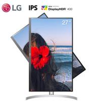 20日20点:LG 乐金 27UL850  27英寸IPS显示器(4K、HDR400、99%sRGB、Type-C)