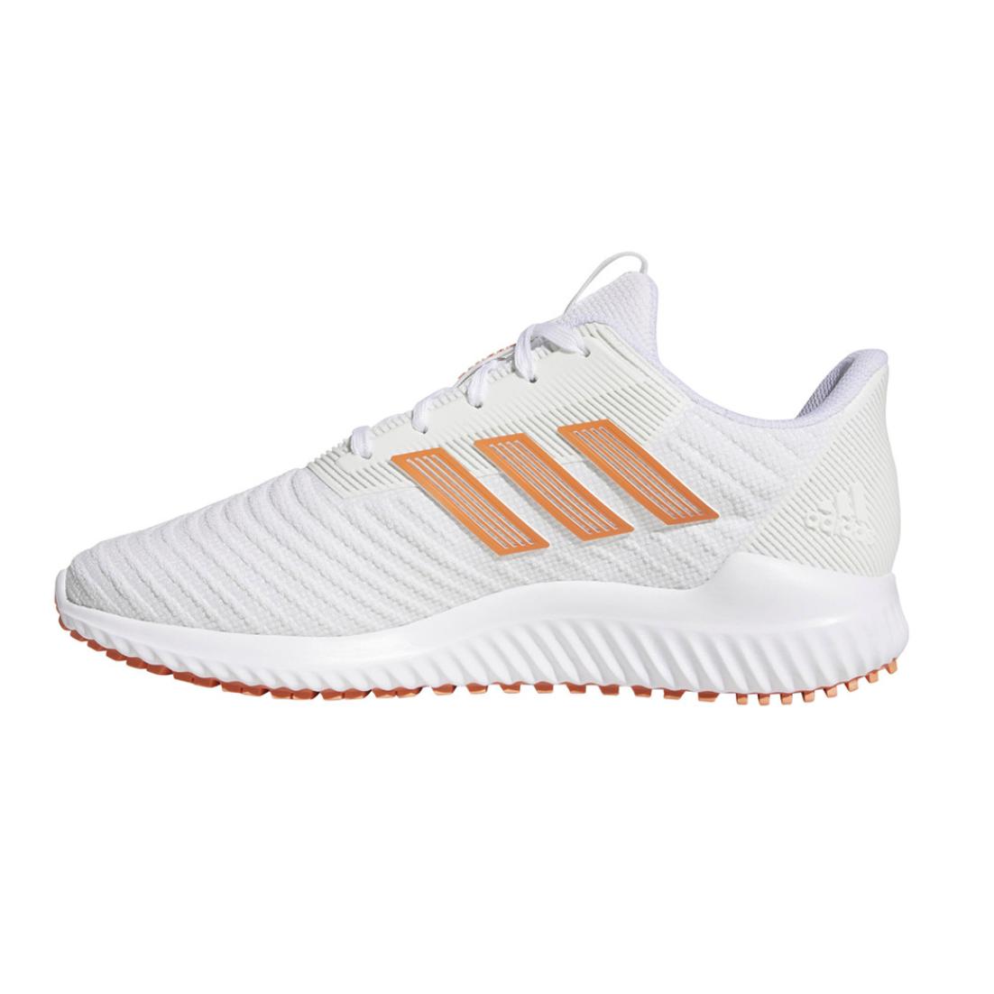 adidas 阿迪达斯 Climawarm 2 女士跑鞋 F36725 白橙 38.5