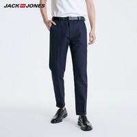 JackJones 杰克琼斯 219114542A 男士商务休闲九分裤