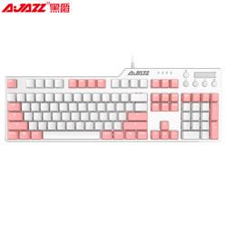 AJAZZ 黑爵 AK35i 机械键盘(黑爵轴、PBT、背光)