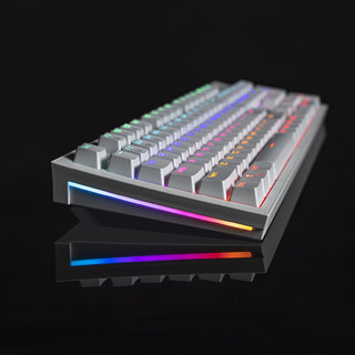 微星有线游戏机械键盘 RGB青轴 GK50Z