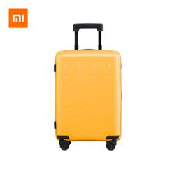 小米旅行箱青春款 24英寸 黄色 天生颜值高|轻而易举|坚韧环保材料