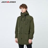 20日0点:JACK JONES 杰克琼斯 219309502B 男士派克加绒大衣