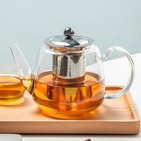 玻璃耐高温泡茶保温加热花茶壶家用 900ML时光壶单壶