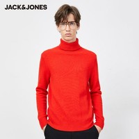 JackJones 杰克琼斯 219425517C 百搭100%羊毛高领毛衣