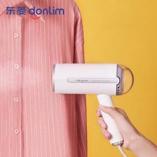 东菱 Donlim 挂烫机家用 熨斗 迷你烫衣机 手持蒸汽熨烫机 烫衣机 差旅便携 DL-1022(软白甜) *2件