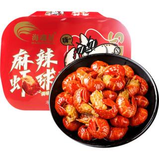 京东PLUS会员 : 首鲜道 麻辣小龙虾尾 250g*6盒(共180-210只)净虾共825g