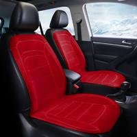 汽车加热坐垫冬季单双座车载座椅电加热改装座垫车用12V24V货车