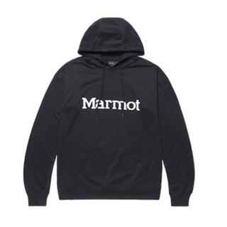 Marmot 土拨鼠 中性户外卫衣 H83567-001 曜石黑 M
