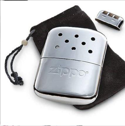 ZIPPO 之宝 12小时暖手器 铬银