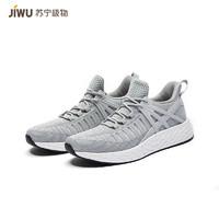 JIWU 苏宁极物 JWCX002 男士透气跑步鞋