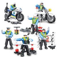 HUIQIBAO TOYS 汇奇宝 城市系列  城市交通警察