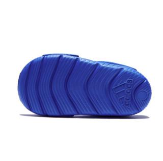 adidas kids 阿迪达斯 SWIM KIDS 婴童凉鞋 BA9281 蓝色 23码