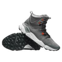 RAX冬季登山鞋男保暖户外鞋女防滑透气徒步鞋爬山鞋高帮登山靴 深灰色 40