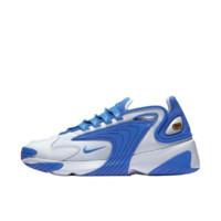 NIKE 耐克 Zoom 2K 男士休闲运动鞋 AO0269-109 白色/游戏宝蓝/白色 40