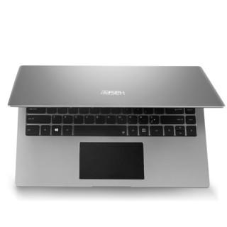 Hasee 神舟 精盾KINGBOOK 15.6英寸 笔记本电脑 (灰色、奔腾5405U、8GB、256GB SSD、GTX 1050 4G)