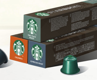 STARBUCKS 星巴克 咖啡胶囊 轻度/中度/深度烘焙 10颗*3盒