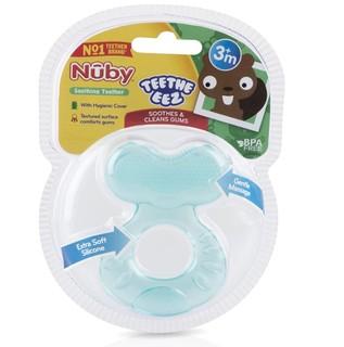 Nuby 努比 92565 婴儿软硅胶牙胶 水绿色 0个月以上