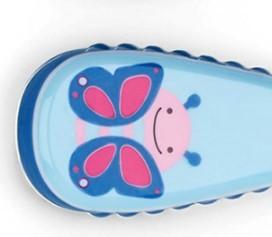 SKIP HOP 斯凯雷普 动物园系列 儿童小蝴蝶不锈钢叉勺套装 12个月以上