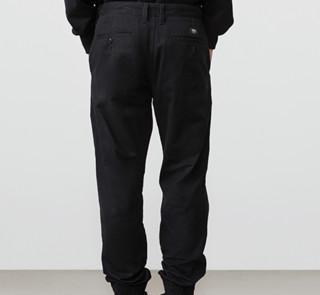 VANS 范斯 Heritage Pack 男士运动裤 VN0A31454QF 黑色 28