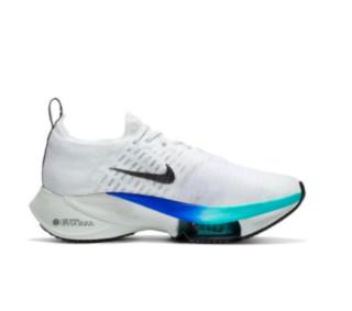 NIKE 耐克 Air Zoom Tempo Next% 男士跑鞋 CI9923-100 白色/黑/超级紫罗兰色/闪电深红/杉木浅蓝灰 40.5