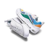 NIKE 耐克 Air Max 98 女士运动板鞋 CJO634-100 白色/白色/多色  35.5