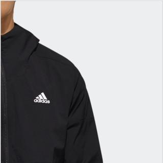 adidas 阿迪达斯 O2 WB WIND 男士运动卫衣/套头衫 EH3770 黑/白 L