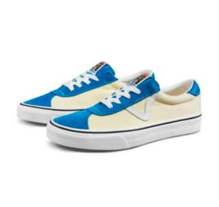 VANS 范斯 Epoch 94 中性运动帆布鞋 VN0A4BU6TYS 蓝/白 41