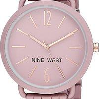 Nine West 女士涂胶手镯手表
