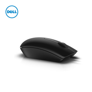 Dell 戴尔 USB有线鼠标 黑色Ms116