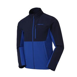 Marmot 土拨鼠  男士软壳衣 S81790-3901 海蓝/北极蓝 S
