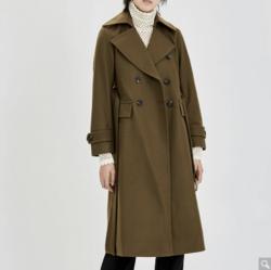 MO&Co. MA174OVC112G27  羊毛混纺大衣