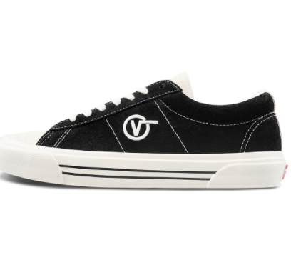 VANS 范斯 Sid Pro 中性休闲运动鞋 VN0A4BTXXIB 黑色 35