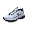 SKECHERS 斯凯奇  Energy Afterburn 男士跑鞋 50081 白/海军蓝 40