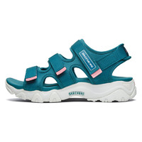 SKECHERS 斯凯奇 D'lites 2.0 女士户外凉鞋 88888342/TEAL 蓝绿色 35