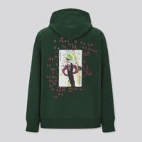 UNIQLO 优衣库 Basquiat x WB 430389 男款连帽卫衣