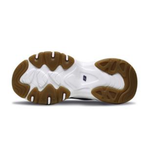 SKECHERS 斯凯奇 D'lites 3.0 女士休闲运动鞋 88888210/BKTN 黑色/棕褐色 37