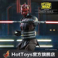 Hot Toys 星球大战:克隆人战争 达斯·摩尔 1:6 比例人偶