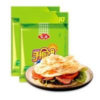 限地区:安井 台湾风味手抓饼 原味 900g*2 (20片装) *5件