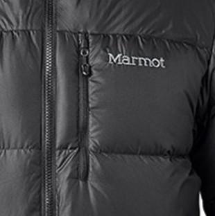 Marmot 土拨鼠 男士户外羽绒服 V73260-001 曜石黑 L