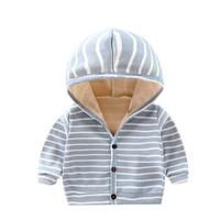 DOUYAGUO 豆芽果 儿童外套连帽开衫