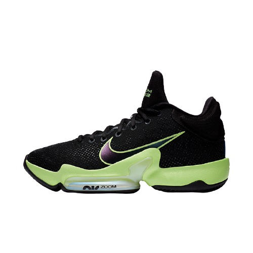 NIKE 耐克 Zoom Rize 2 男士篮球鞋 CT1498-001 黑色/绿色 41