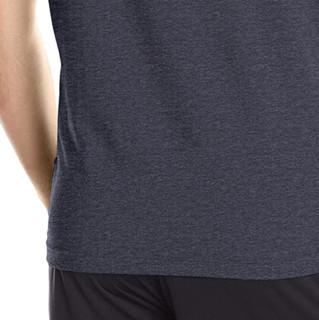UNDER ARMOUR 安德玛 男士运动T恤 1257615-017 黑色 L